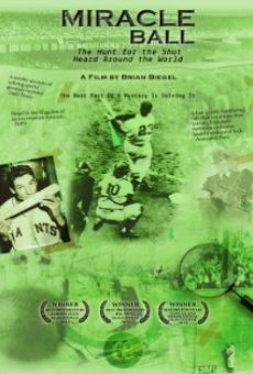 Ver película Miracle Ball: The Hunt for the Shot Heard Around the World