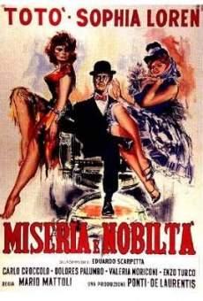 Ver película Miseria y nobleza