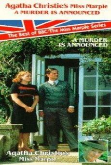 Ver película Miss Marple: Se anuncia un asesinato