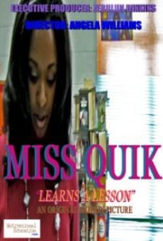 Película: Miss Quik-Learns a Lesson
