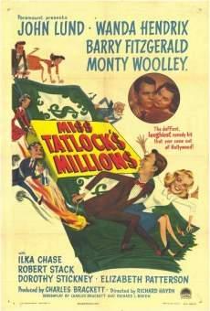 Película: Miss Tatlock's Millions