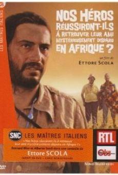 Riusciranno i nostri eroi a ritrovare l'amico misteriosamente scomparso in Africa? online