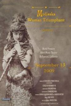 Ver película Modjeska-Woman Triumphant