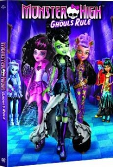 Monster High: Ghouls Rule! on-line gratuito
