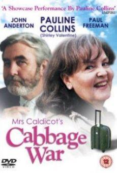 Ver película Mrs Caldicot's Cabbage War