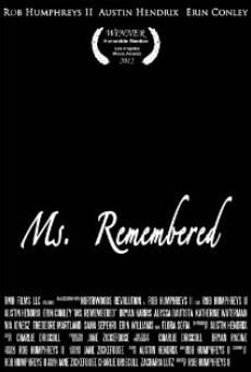 Watch Ms. Remembered online stream