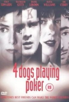Four Dogs Playing Poker online