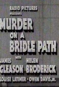 Murder on a Bridle Path on-line gratuito