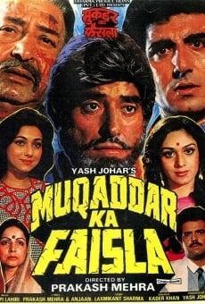 Ver película Muqaddar Ka Faisla