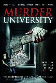 Película: Murder University