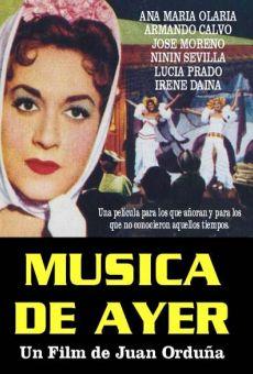Película: Música de ayer