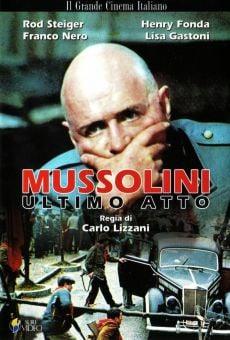Película: Mussolini: Último acto