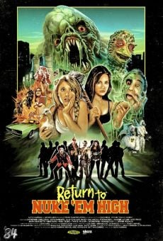 Return to Nuke 'Em High. Volume 1 on-line gratuito