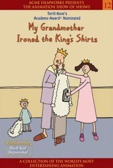 Min bestemor strøk kongens skjorter online