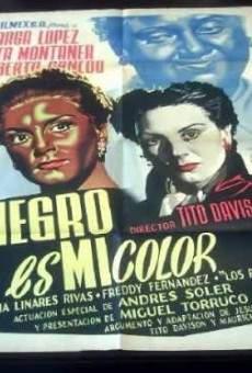 Negro es mi color on-line gratuito