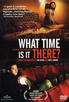 Et là-bas, quelle heure est-il?