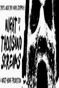 Película: Night of a Thousand Screams