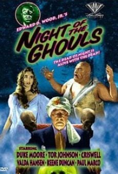 Night of the Ghouls on-line gratuito