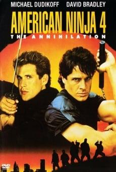 Ver película Ninja americano 4: la aniquilación