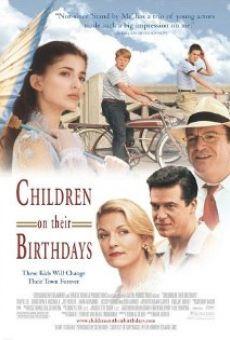 Niños en sus cumpleaños online gratis