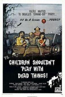 Ver película Niños, no jueguen con cosas muertas