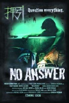 Watch No Answer online stream