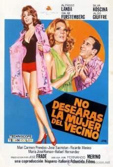 Ver película No desearás la mujer del vecino