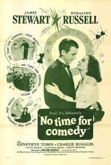 No Time for Comedy on-line gratuito