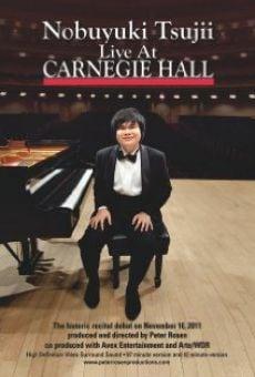 Watch Nobuyuki Tsujii Live at Carnegie Hall online stream