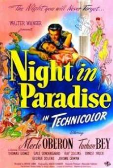 Night in paradise on-line gratuito