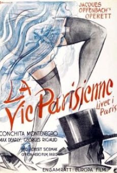 La vie parisienne on-line gratuito