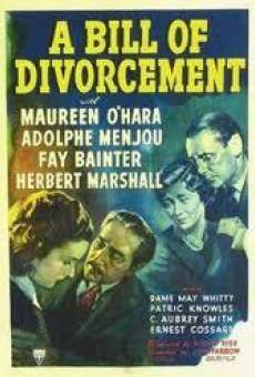 A Bill of Divorcement on-line gratuito