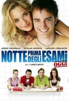 Ver película Notte prima degli esami... Oggi