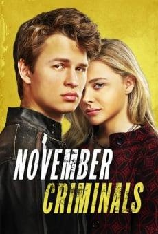 November Criminals online