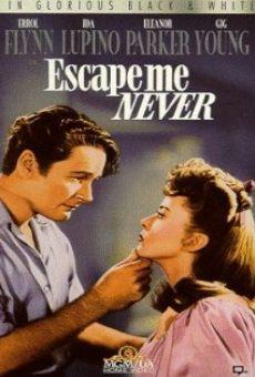 Ver película Nunca huyas de mí
