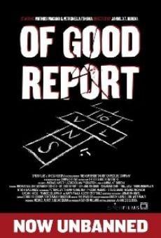 Watch Of Good Report online stream