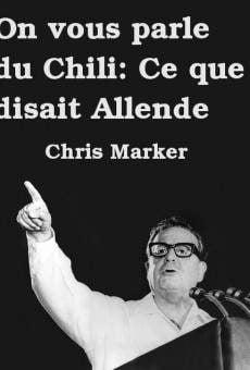 On vous parle du Chili: Ce que disait Allende on-line gratuito