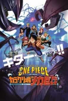 One Piece: Karakurijou no Mecha Kyohei online streaming
