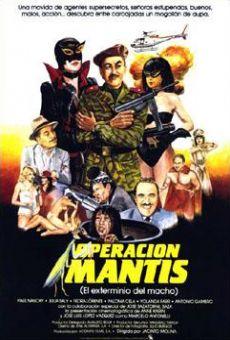 Operación Mantis on-line gratuito