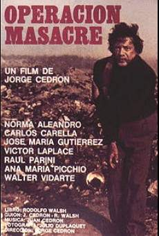 Ver película Operación Masacre