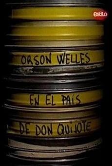 Ver película Orson Welles en el país de Don Quijote
