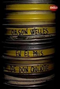 Orson Welles en el país de Don Quijote online