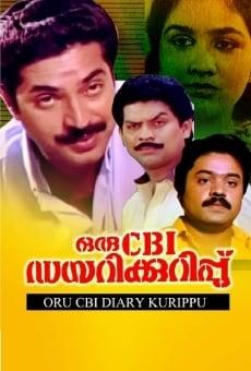 Ver película Oru CBI Diary Kurippu
