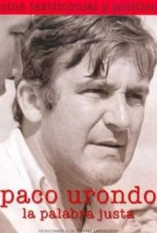 Paco Urondo, la palabra justa online