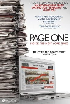 Page One: A Year Inside the New York Times on-line gratuito