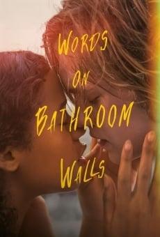 Ver película Palabras en las paredes del baño