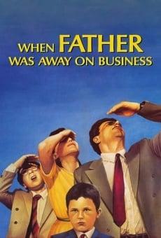 Ver película Papá está en viaje de negocios