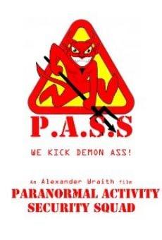 Ver película Paranormal Activity Security Squad