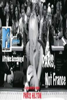 Paris, Not France on-line gratuito