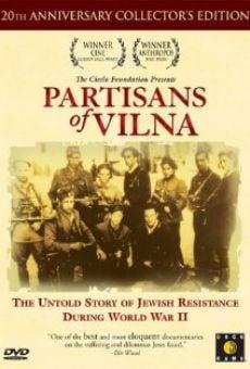 Ver película Partisanos de Vilna